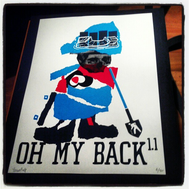 Oh My Back Poster 1.1