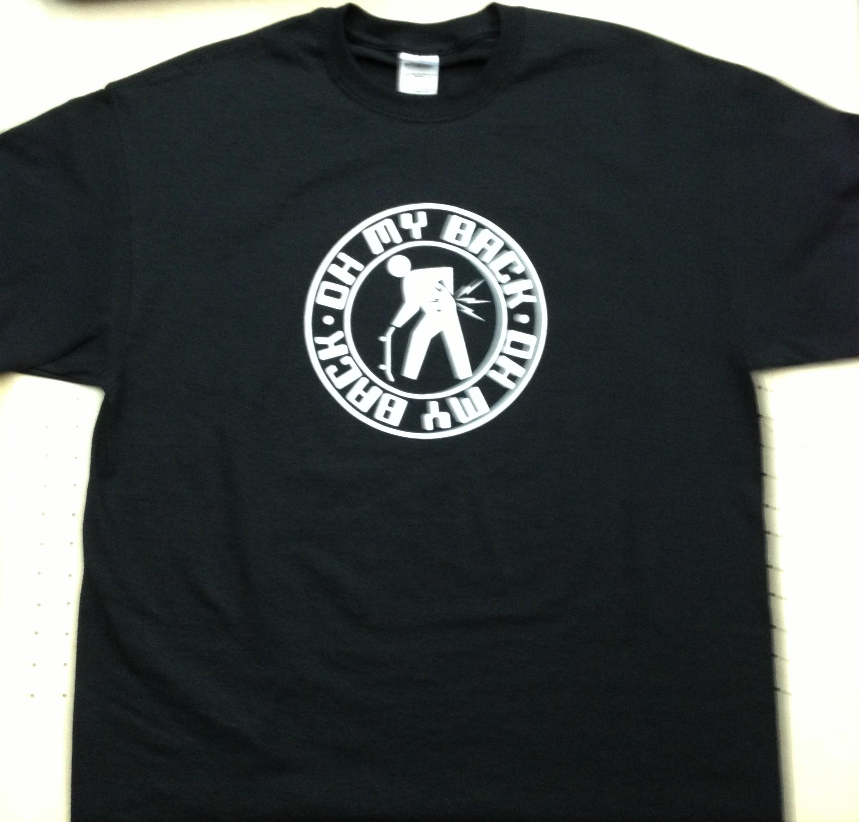 Oh My Back Circle Logo Shirt
